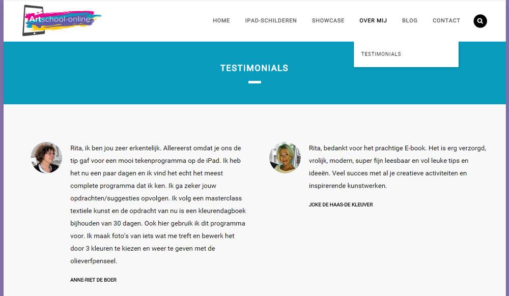 Testimonials_Artschool-online_eigen_pagina